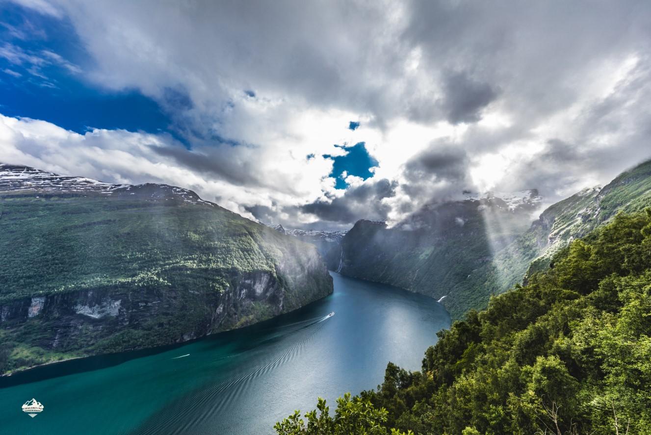 Geirangerfjorden i Møre og Romsdalen - Foto: Kenneth Hauen